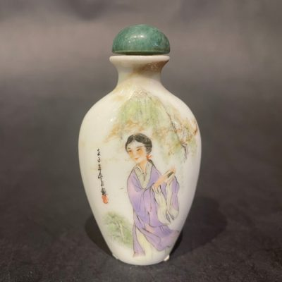 Porcelain Snuff Bottle FA-1564